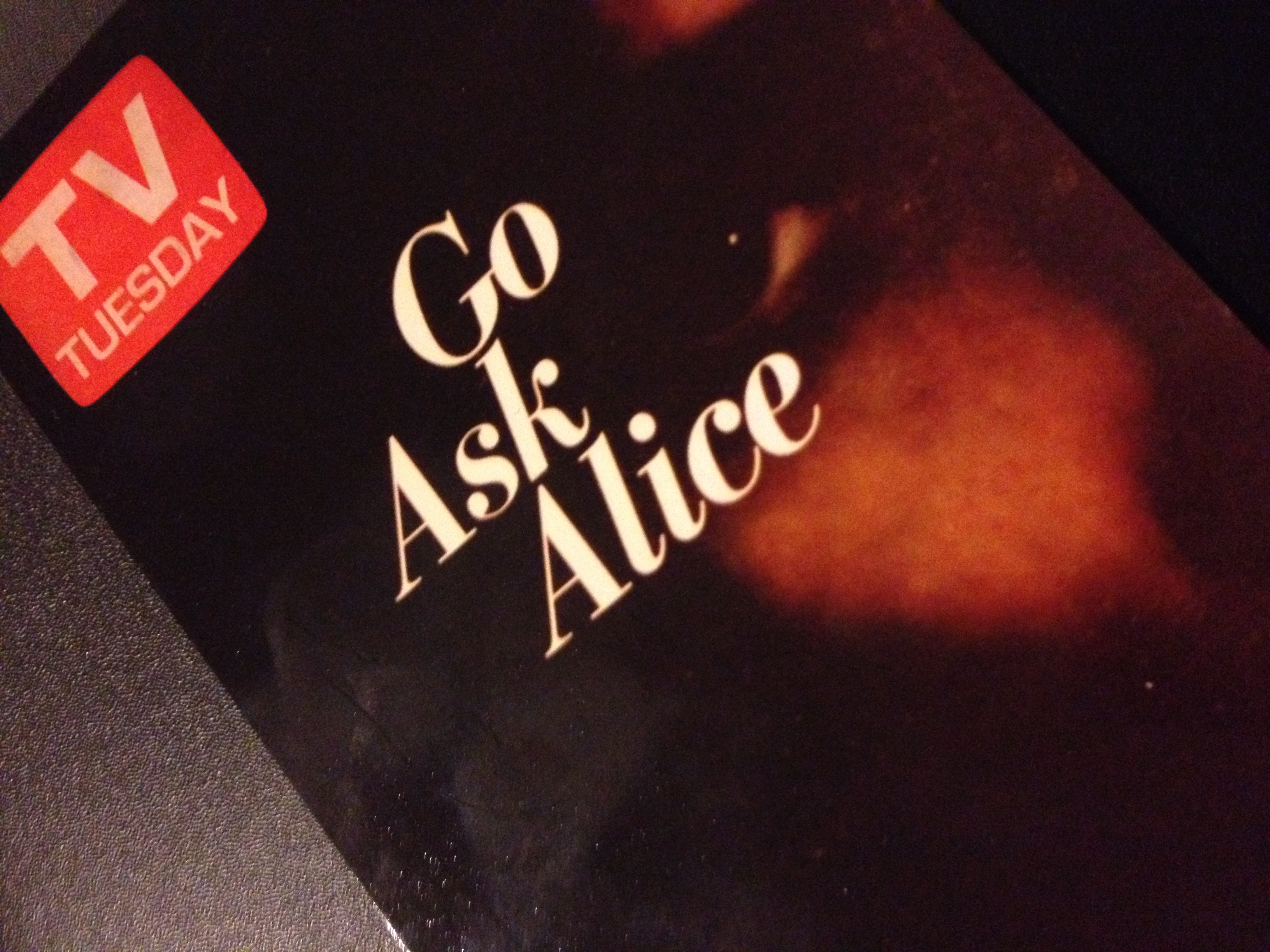 lines from go ask alice that were obviously fake the toast
