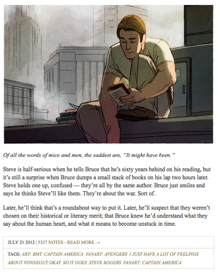 A History Lesson From the Captain America Fandom - The Toast
