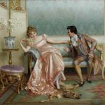 Women Rejecting Marriage Proposals In Western Art History