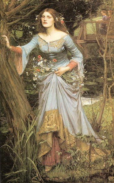 the unified theory of ophelia on women writing and mental ophelia by john william waterhouse