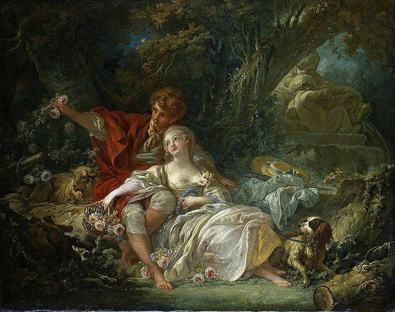 Rococo Paintings And The Opposite Of Marxism The Toast - Rococo painting